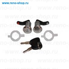 FT94154, Fast, Комплект личинок замка двери с корпусом и с ключами  (2 штуки) для Renault Mascott, Renault Master 2